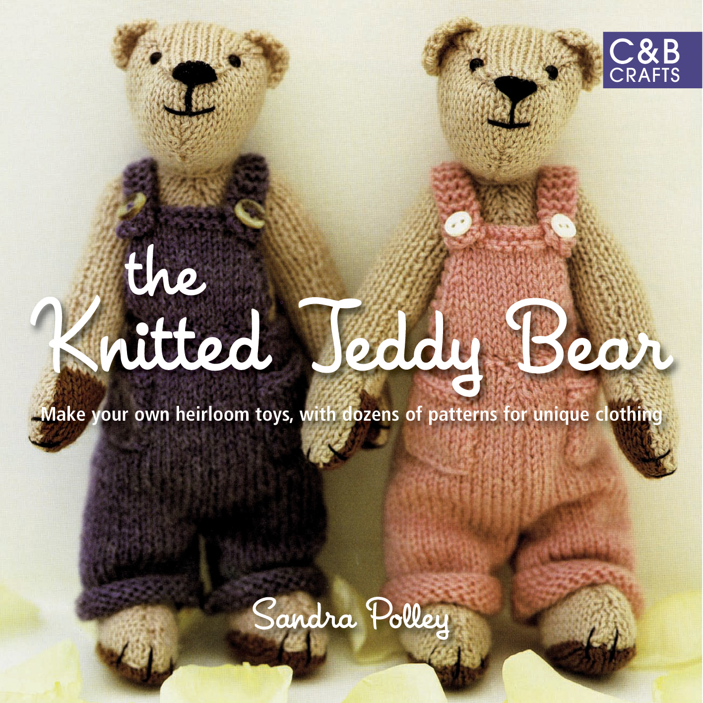 Book knitted toys
